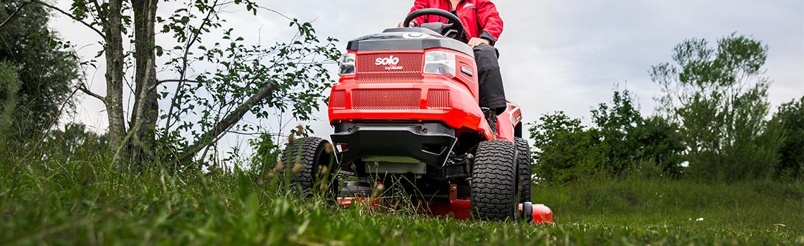 Zahradní traktory | Zahradní traktor v akci