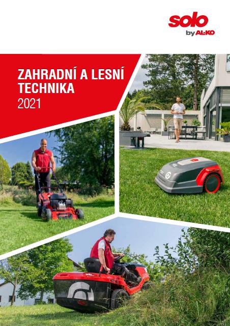 Katalog | Zahradní a lesní technika solo by AL-KO 2021