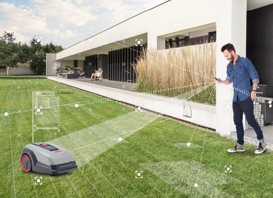 Chytrá zahrada | Inteligentní péče o trávník