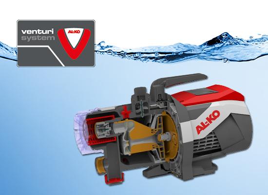 Vodní technika AL-KO | Venturi system