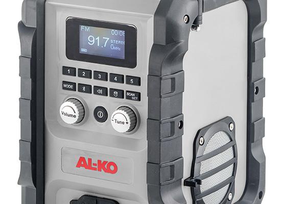 Stavební rádio   Lehké a robustní