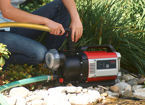 Zahradní čerpadla | Rychlá instalace zahradního čerpadla