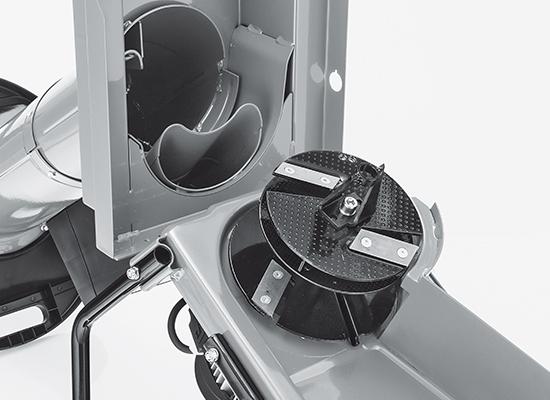 Zahradní drtiče   Precizní drtící mechanismus