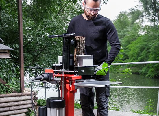 Podpěra dřeva AL-KO na štípacím stole