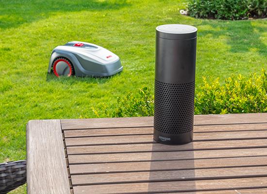 Robotické sekačky | Robolinho® kompatibilní s Amazon Alexa a IFTTT