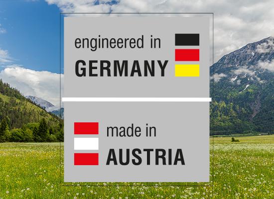 Vývoj v Německu, výroba v Rakousku