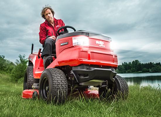 Zahradní traktory | Široké pneumatiky