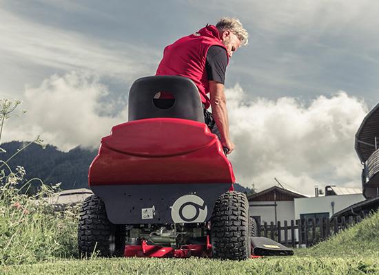 Zahradní traktory | Patentovaný volnoběhový mechanismus AL-KO